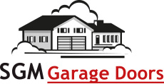 SGM Garage Doors logo